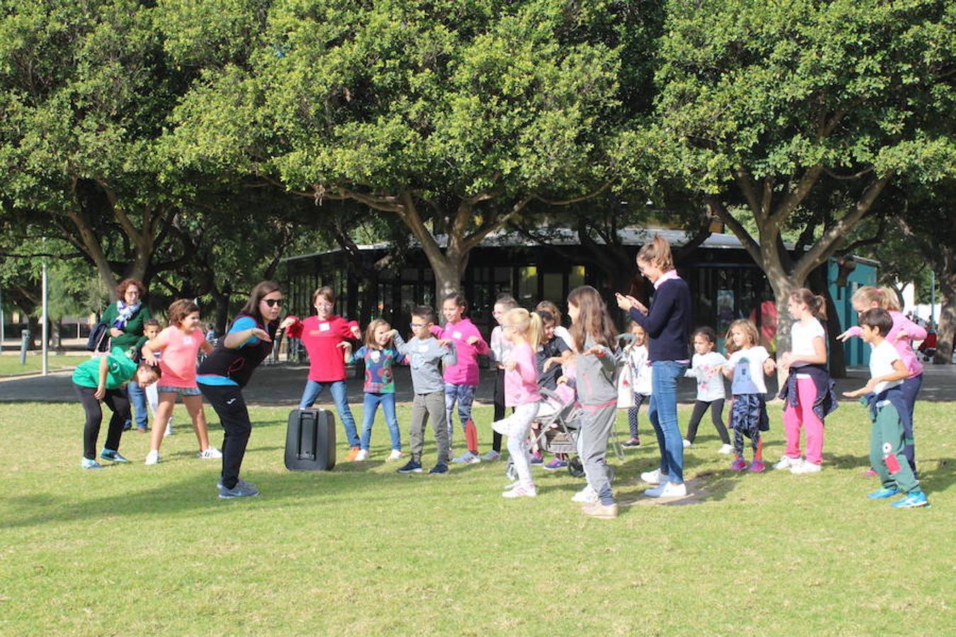 Juegos y diversión en la Semana de la Infancia