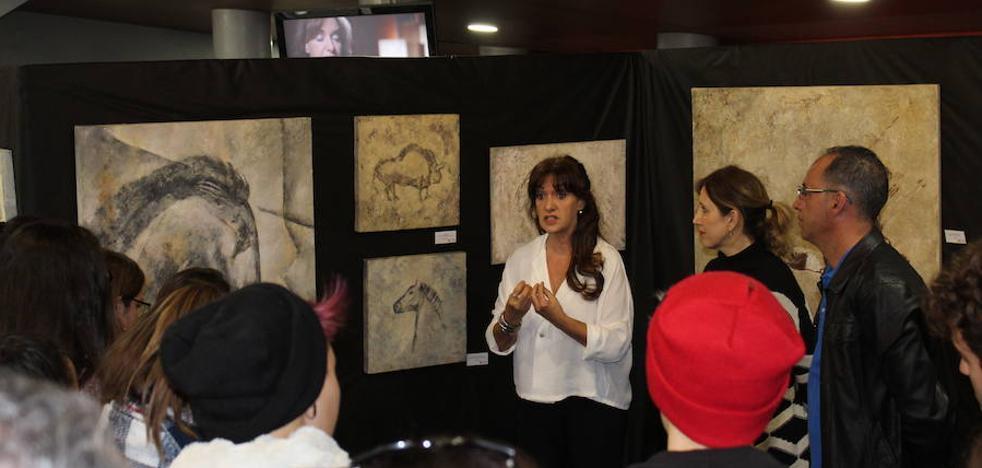 La muestra El arte en las Cuevas llega al Auditorio de El Ejido
