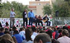 El Tierno Galván lleva el trovo a sus estudiantes en el Día del Flamenco