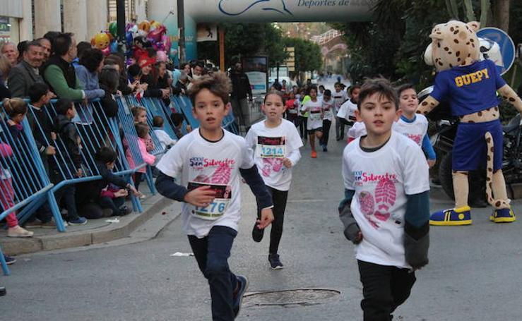 Los pequeños se suman a la San Silvestre en El Ejido