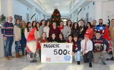 El colegio Sek Alborán recauda fondos a favor de la asociación Axdial