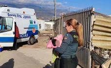 La madre de los niños del cortijo El Ejido admitió que no podía hacerse cargo de ellos