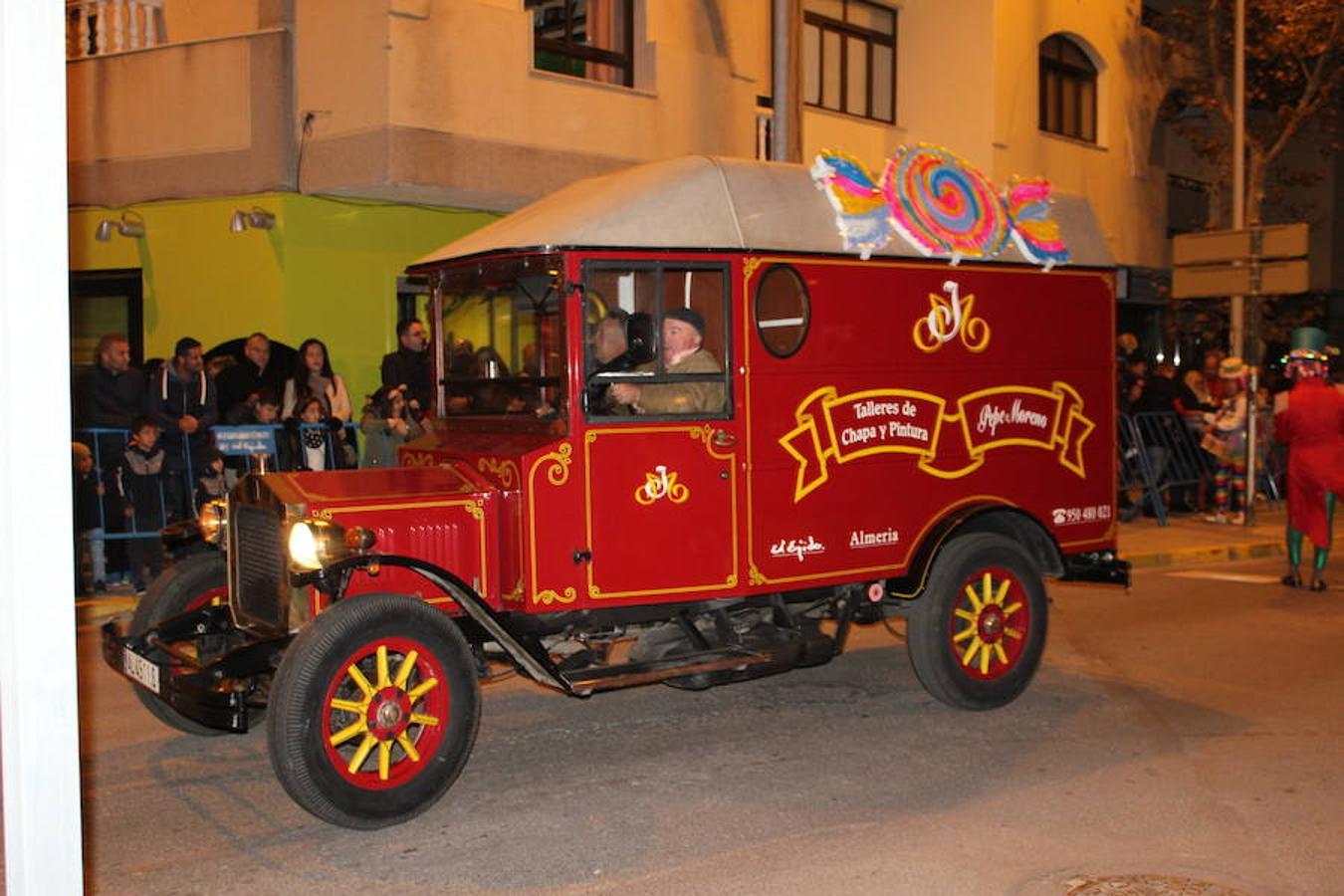 La Cabalgata de Reyes inicia una mágica noche