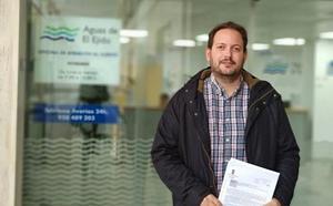 IU El Ejido reclama al gobierno local una revisión del 'tarifazo' del agua