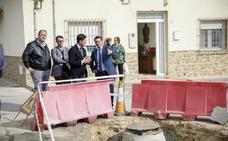 Diputación y Ayuntamiento invierten en mejoras para el núcleo de Santo Domingo