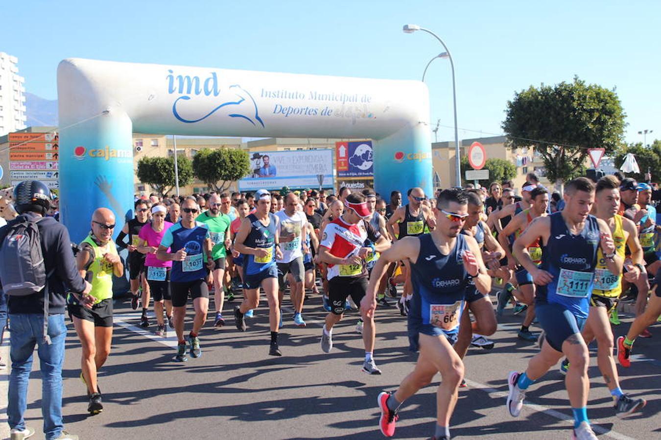 Más de medio millar de runners participan en la Media Maratón Ciudad de las Hortalizas