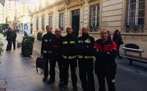 Los Bomberos del Poniente demandarán mañana ante Diputación mejor gestión y mayor seguridad