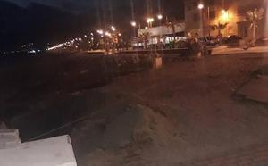 Indignación ante las obras de restauración del paseo de Balerma que harán perder metros