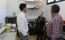 Finalizan las obras de ampliación de la cocina del Centro de Mayores de San Agustín