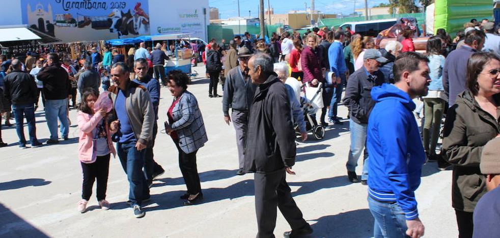 La Feria del Ganado lleva a miles de personas hasta Tarambana