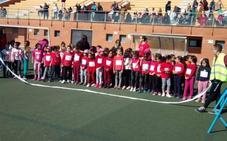 Más de un millar de escolares de Las Norias corren por un fin solidario