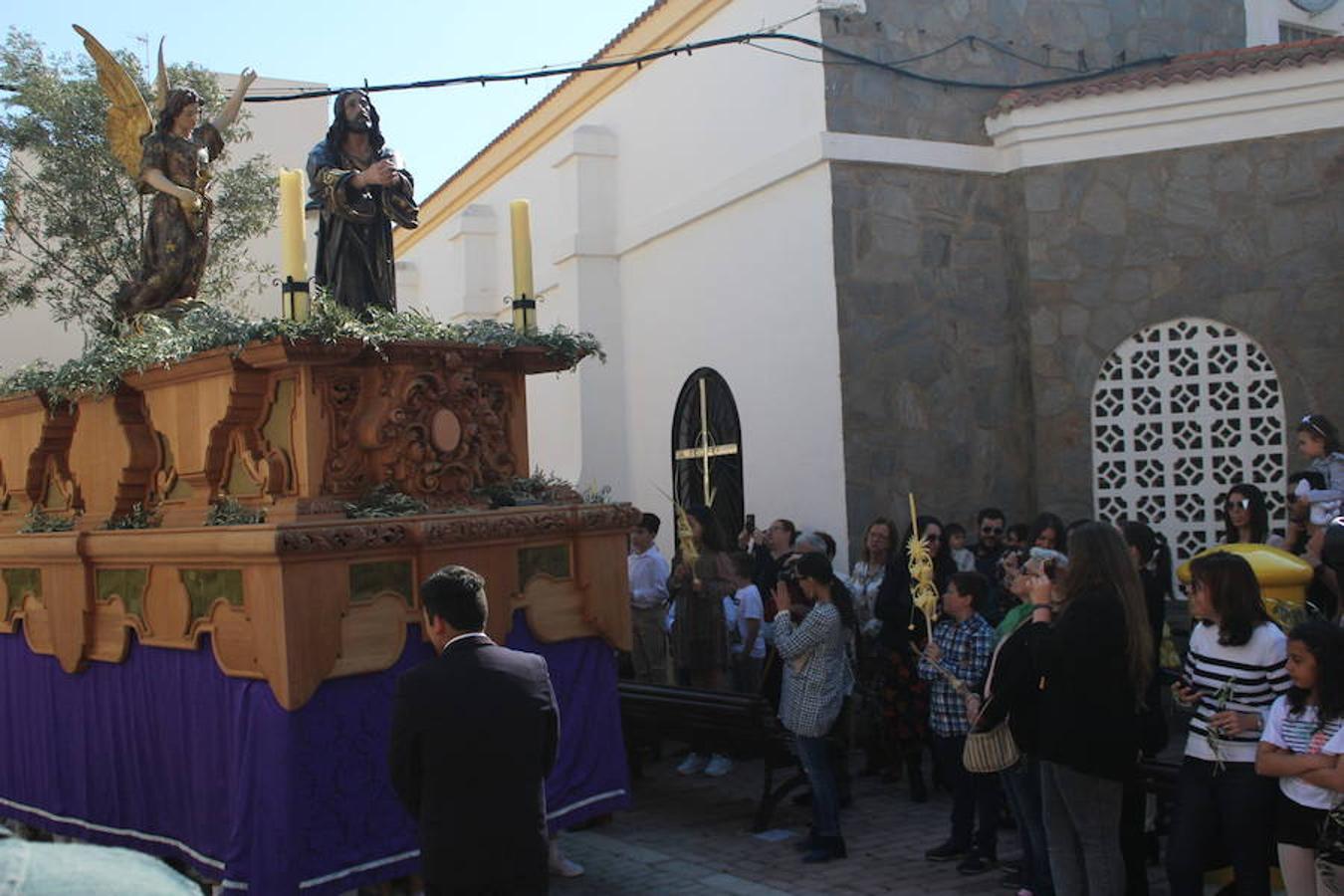 Balerma procesiona a Jesús de la Oración del Huerto en el Domingo de Ramos