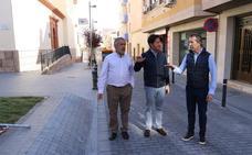 Finalizan las obras de acondicionamiento del entorno de la plaza de la Iglesia