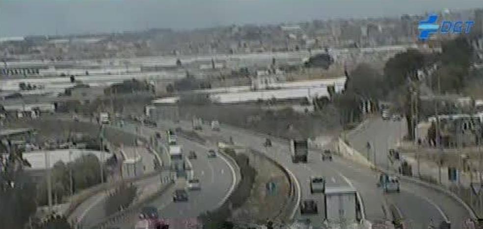 El tráfico vuelve a la normalidad en la A-7