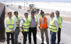 Las obras de la carretera que une San Agustín y Las Norias entran en la recta final