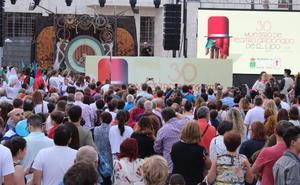 El Festival rinde su homenaje a la Muestra de Teatro en su inauguración