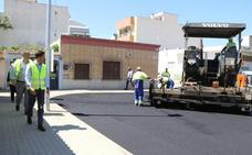 El proyecto de urbanización del barrio Cañada Cortés entra en su recta final