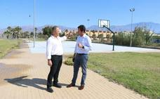 Nueva pista de baloncesto al aire libre en el núcleo de Balerma