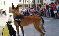 La Guardia Civil conmemora su 175 aniversario con la ciudadanía ejidense
