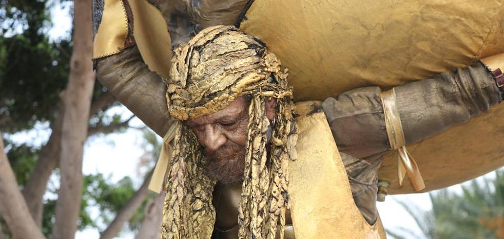 El Parque Municipal acogerá por segundo año el Concurso de 'Estatuas Humanas'