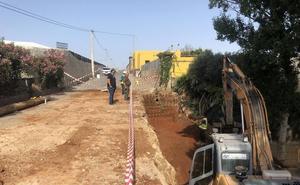 Comienzan las obras de mejora en el camino rural de 'Los Majales'