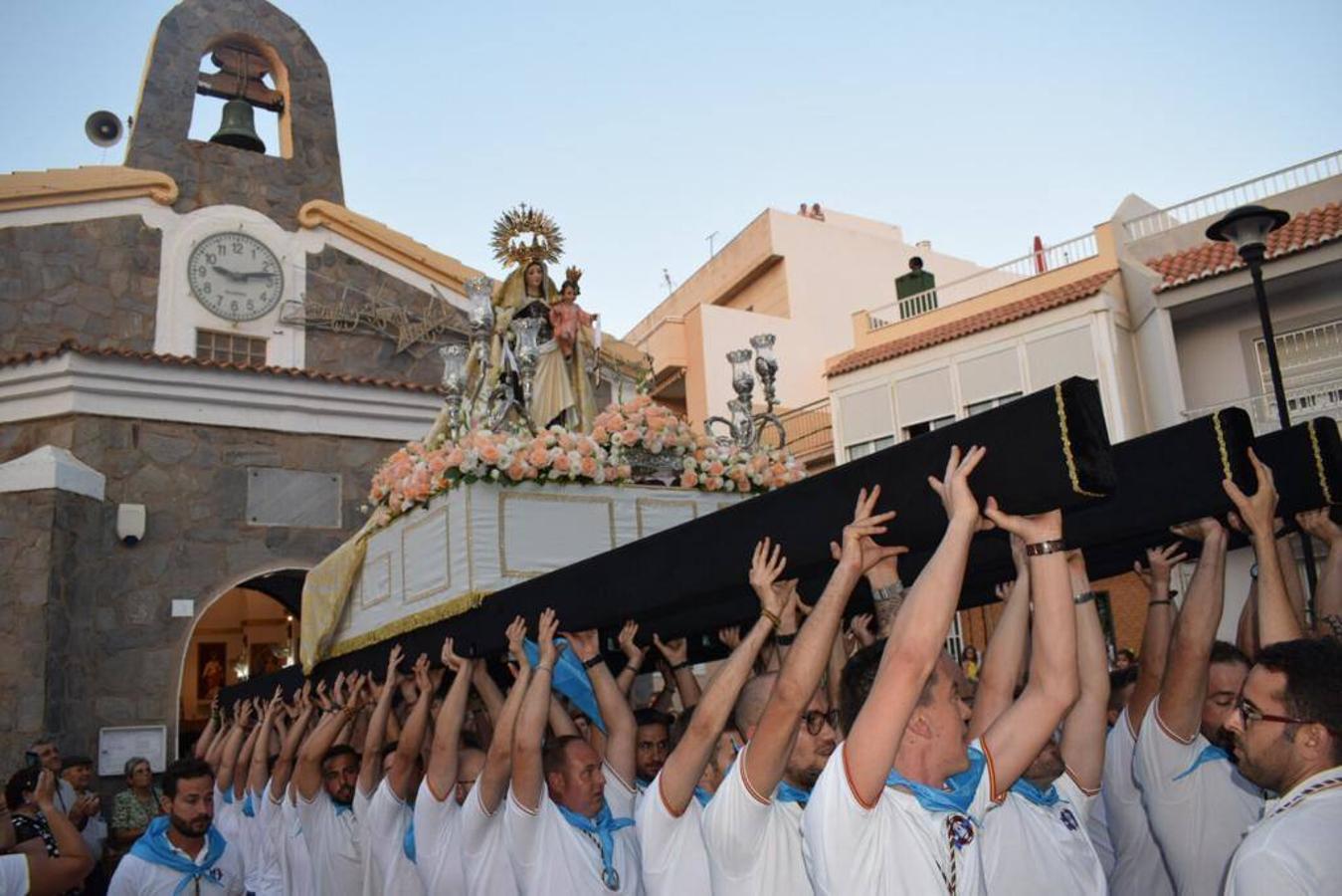 Almerimar y Balerma procesionan a su Virgen del Carmen