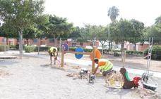 Arrancan las obras en el parque Francisco Navarrete