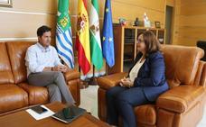 Primera reunión institucional entre el alcalde y la gerente del Distrito Sanitario Poniente