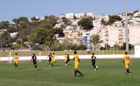 El CD El Ejido ofrece 'cara y cruz' en el Torneo Almuñécar Cup 2019
