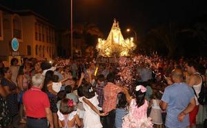 Arrancan las fiestas en honor a la Virgen de las Mercedes del núcleo de Balerma
