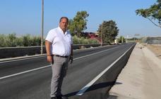 La mejora de la carretera de San Silvestre finalizará en noviembre