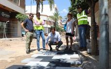 La remodelación de Ejido Centro continúa con la instalación de la canalización en la calle Iglesia