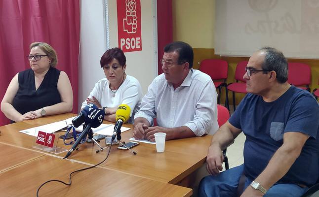 El PSOE pide mejoras en educación, accesibilidad, seguridad y núcleos