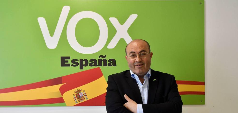 El ejidense Juan José Bonilla, candidato de Vox al senado
