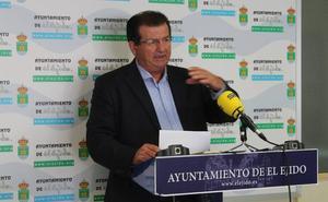 El PSOE califica de «año sabático» el 2019 en inversiones de la Junta en El Ejido