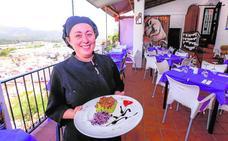 Cocina con pasión y el secreto de una vinagreta en Salobreña
