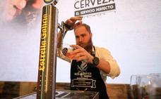 El malagueño Adrián Hermida, Mejor Tirador de Cerveza de Andalucía