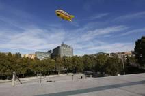Estrella Galicia surca el cielo de Granada