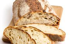 Mariscal, arroz en punto y pan casero