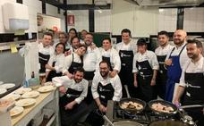 Entre amigos, una cena que reune lo mejor de la gastronomía en Jaén