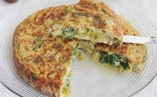 Tortilla de lechuga: una opción sana y sabrosa para 'rebajar' la dulce Semana Santa