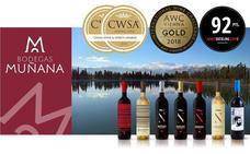 Cuatro vinos de Muñana, premiados en CWSA
