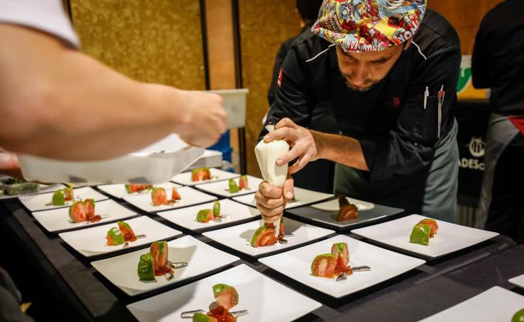 Las imágenes del viernes por la mañana en Granada Gourmet