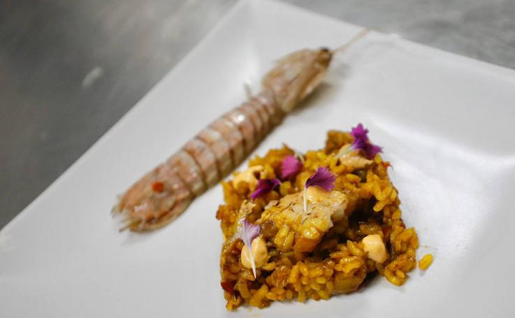 Un recorrido por el arroz, la chufa, el turrón y las galeras para la comida Michelin del sábado