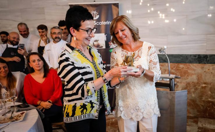 Premio Luis Oruezábal a una hija de la «cultura del esfuerzo»