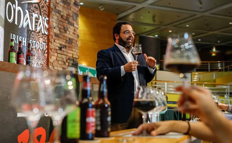 Aficionados a la cerveza han tenido la oportunidad de participar en la cata de Brewdog y Ohara