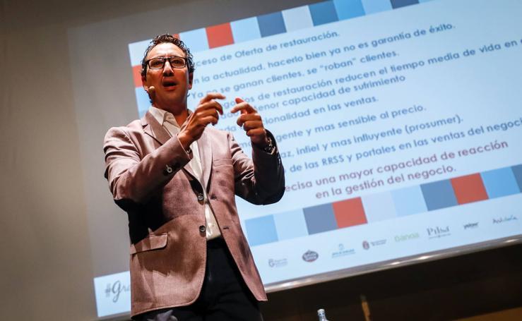 David Rupert habla en Granada Gourmet sobre las 8 claves de una buena gestión