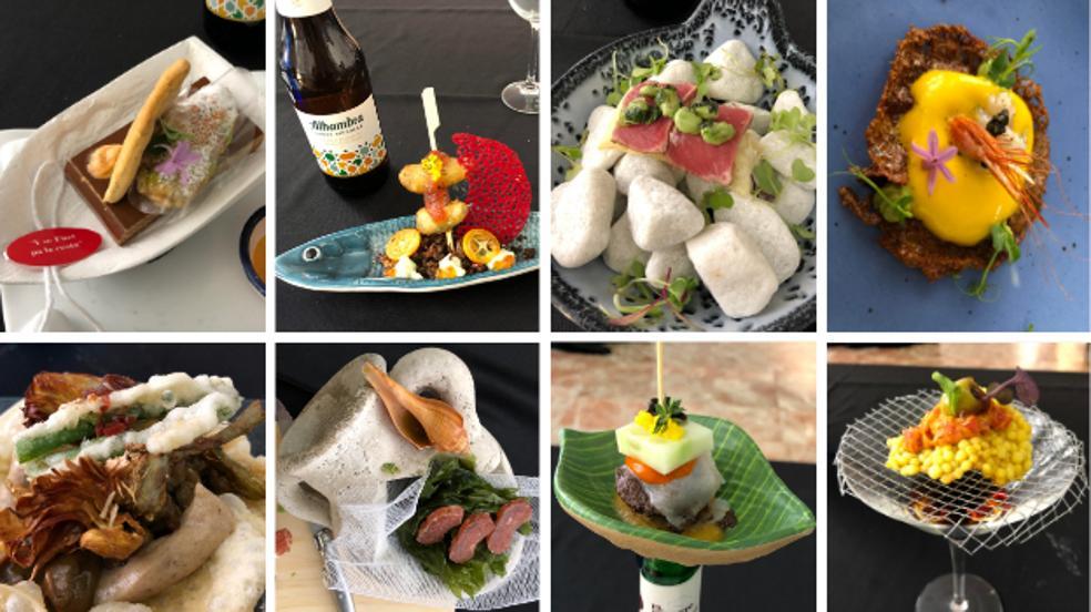 Las 8 tapas finalistas del concurso Granada de Tapas Gastronómicas