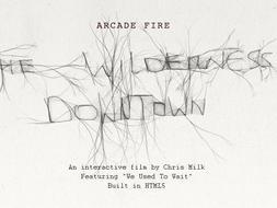Arcade Fire y Google viajan con 'The Wilderness Downtown'