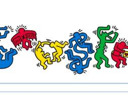 Keith Haring, un graffiti art�stico para revolucionar Google